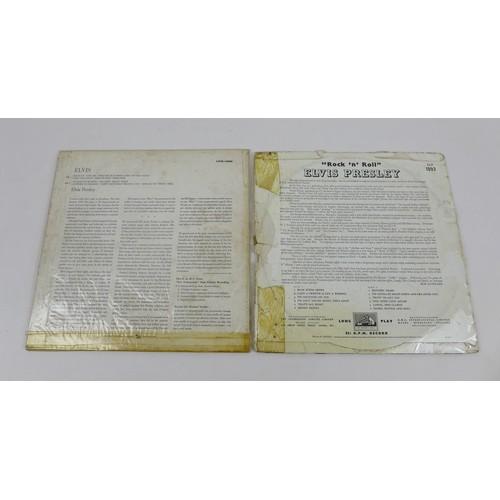 38 - Four Elvis Presley vinyl LPs, comprising