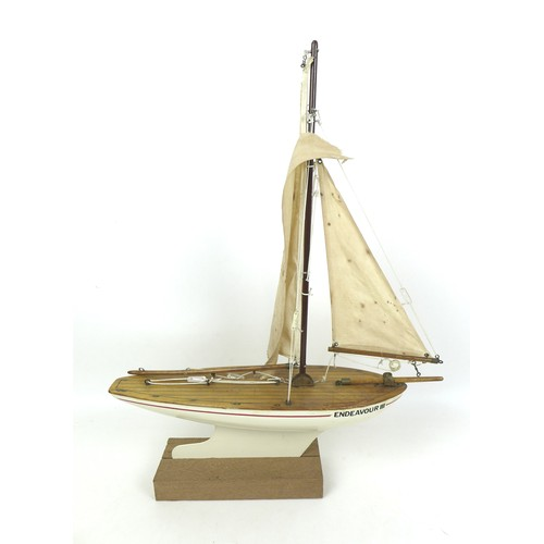 60 - Two wooden model ship kits and five wooden sailing boats, comprising a Dallas Revenue Cutter kit, an...
