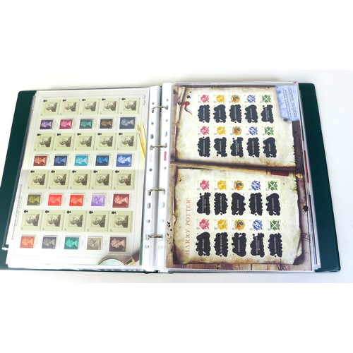 103 - A large and impressive collection of GB mint stamps, QEII, Royal Mail Smilers sheets, comprising 117...