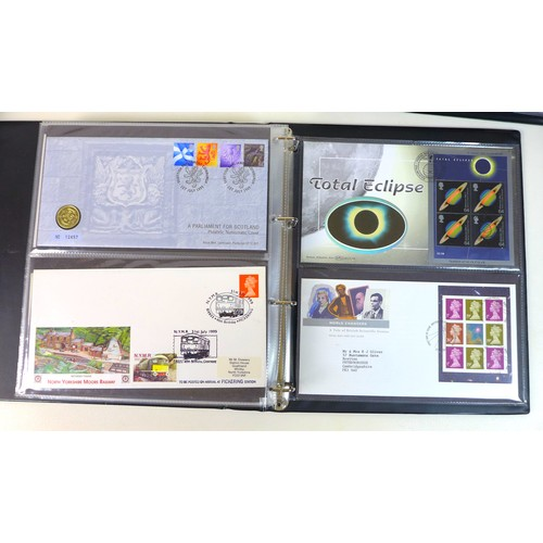 87 - A large and impressive collection of GB Royal Mail First Day Covers, 1945-2001, including 1945 Chann...