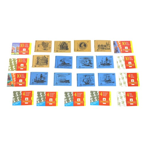 91 - A collection of GB Royal Mail booklets, QEII mint stamps, comprising 7 pre-decimal 4/6 and 4 pre-dec...