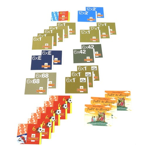 94 - A collection of GB Royal Mail booklets, QEII mint stamps, all originally purchased 2001-2002, compri...