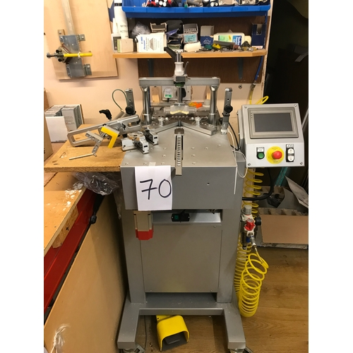 70 - A6 Memots Plus vertical clamp mitre machine made in Italy....