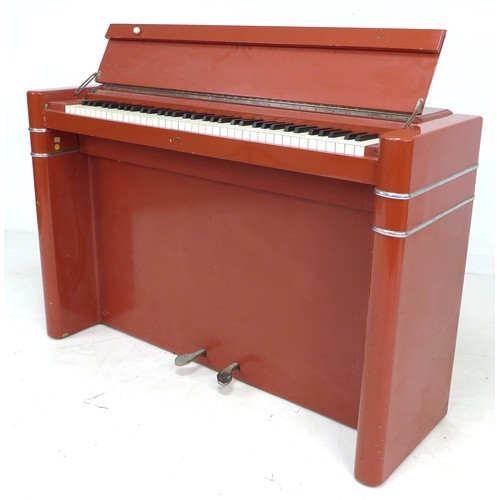269 - An Art Deco Eavestaff cocktail piano, minipiano 'Pianette', serial number '2719', once belonging to ...