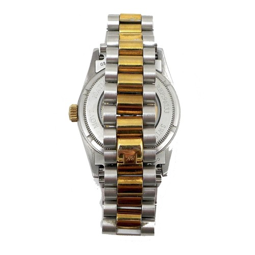 209 - A Rosdenton, Taiwanese, stainless steel and gold plated gentleman's automatic wristwatch, in the sty...