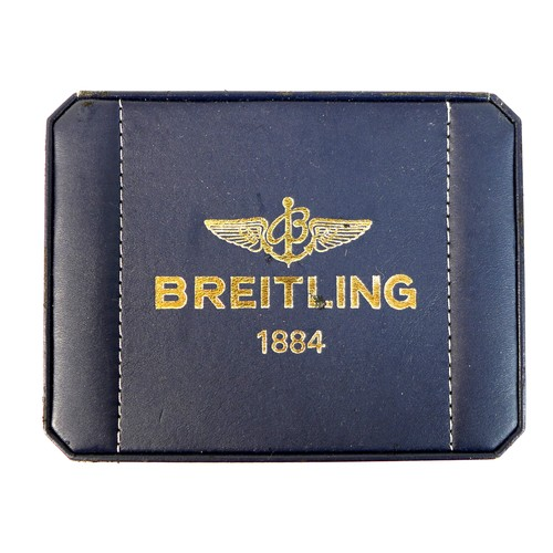 224 - A Breitling Windrider Power Reserve (Reserve de Marche) stainless steel cased gentleman's wristwatch...