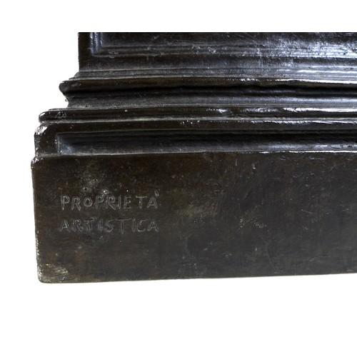 84 - Vincenzo Gemito (Italian, 1852-1929): 'L'Acquaiolo' (The Water Carrier), a bronze figural sculpture ...