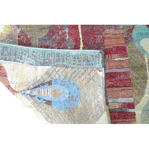 372 - Rex Ray (American, 1956-2015) for Samad, a 'Sansome' design hand knotted wool rug, circa 2015, with ...