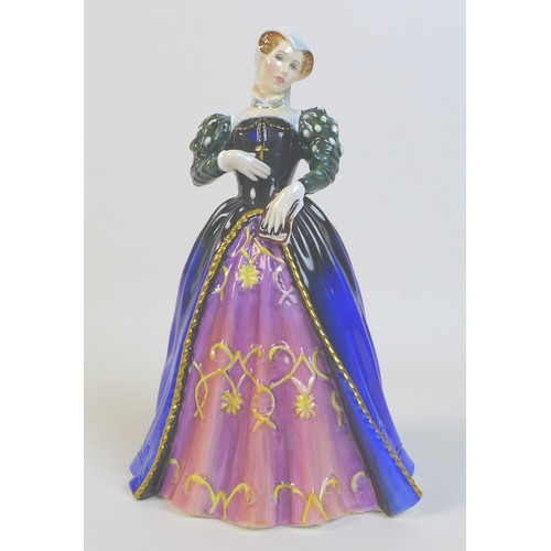 80 - A Royal Doulton figurine, modelled as 'Mary Queen of Scots', HN 3142, with certificate numbered 1381...
