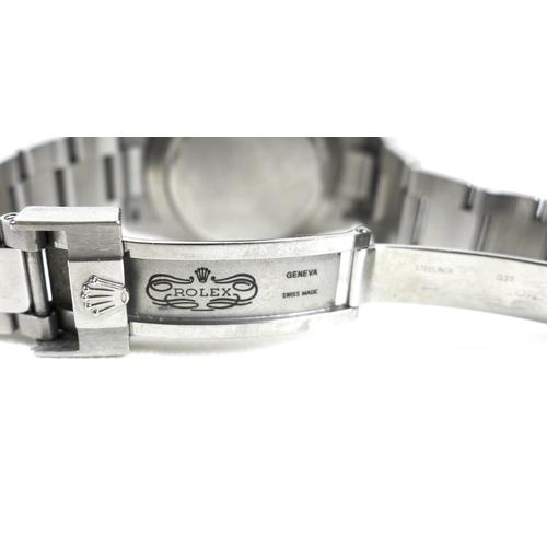 156 - A Rolex Oyster Perpetual Daytona Cosmograph stainless steel cased gentleman's wristwatch, Superlativ...