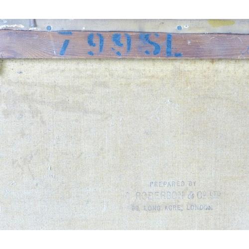 157 - Daniel Sherrin (British, 1868-1942): country landscape scene, signed lower left, oil on canvas, 39 b...