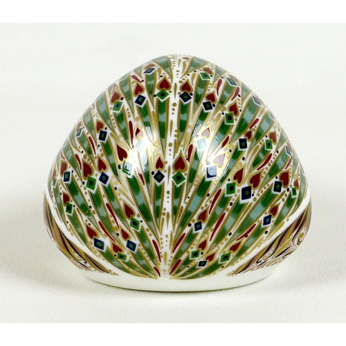 25 - A rare Royal Crown Derby paperweight, 'Ashbourne Hedgehog', exclusive edition 175/500 commissioned b...