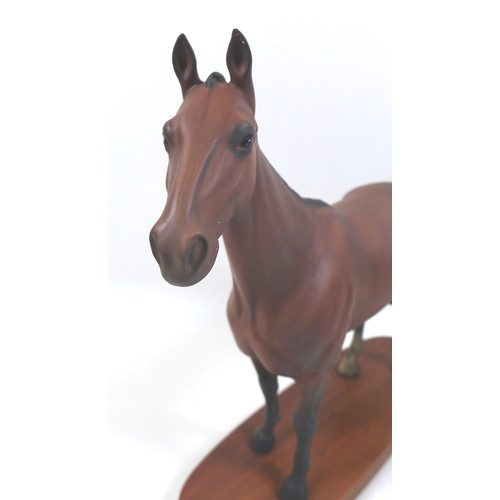 134 - A Beswick 'Arkle - Champion Steeple Chaser' horse figurine, from the 'Connoisseur Horses' series, mo...