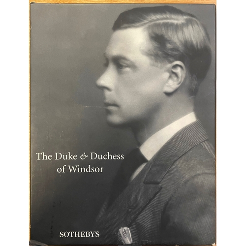10 - The Duke and Duchess of Windsor,Sothebys Catalogue...