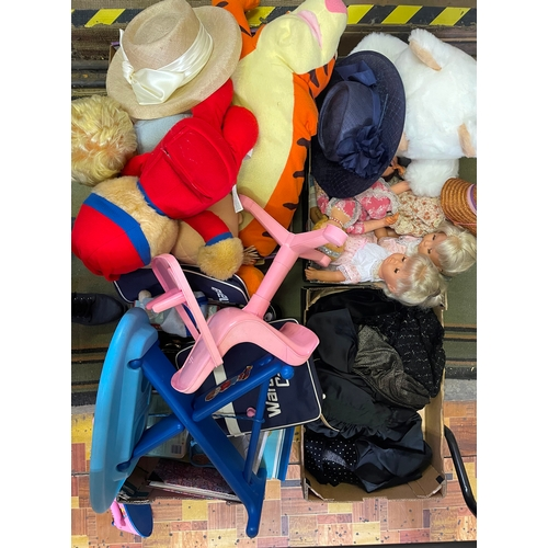 15 - Collection of Soft Toys and Clothing