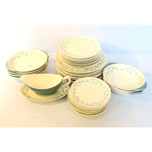 2 - Royal Doulton April Showers pattern part dinner service...