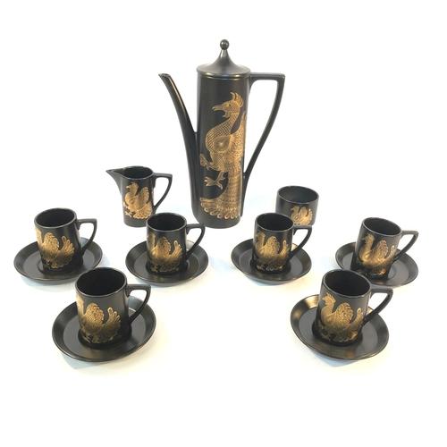 4 - Phoenix Portmeirion Coffee Set