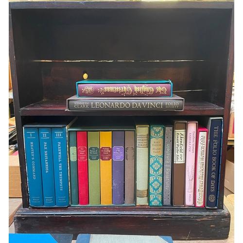 47 - Small Bookcase with Folio Society Books
