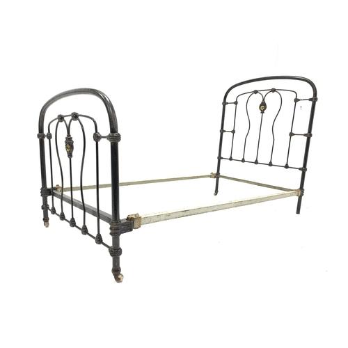 457 - Victorian cast iron single 3'1