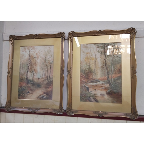 108 - Two Watercolours Signed and Dated 1923