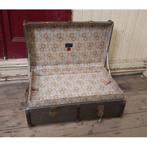 109 - Travel Chest by T.Mennell of Malton
