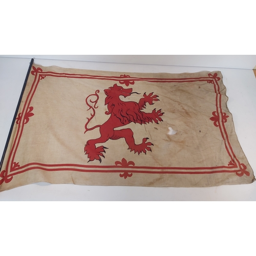 146 - Royal Standard Flag,Scottish Lion Flag and Two Others