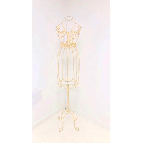 342 - Wirework mannequin H163cm