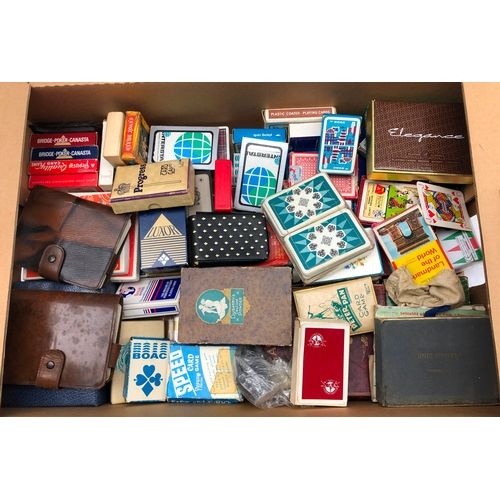 358 - Quantity of vintage and later playing cards and games, mostly with original boxes