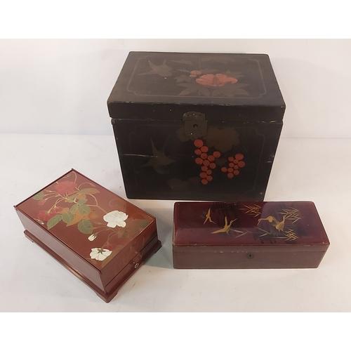 4 - Three Oriental Boxes
