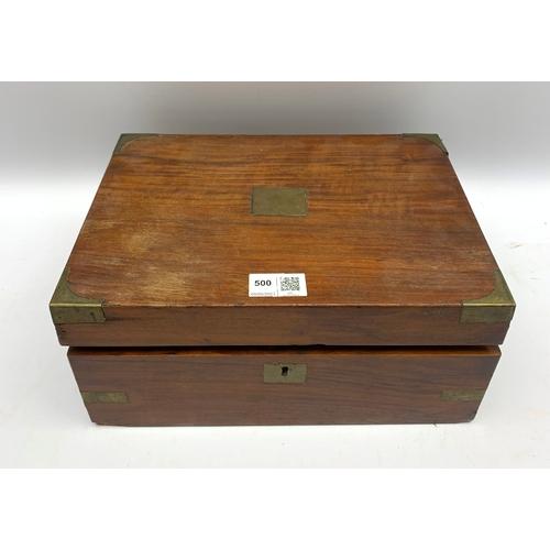 500 - Writing slope/box for restoration