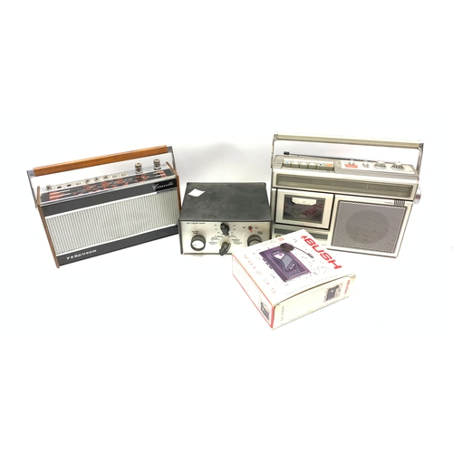 511 - Vintage Panasonic radio/tape player and other similar items, in one box