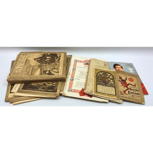 589 - Ephemeral items including various issues of 'Pictorial Education', 'Royal Wedding 1981' booklet etc,...