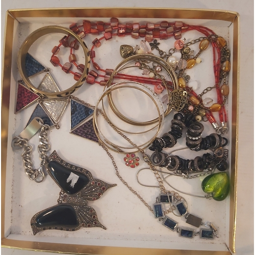 63 - Box of Costume Jewellery