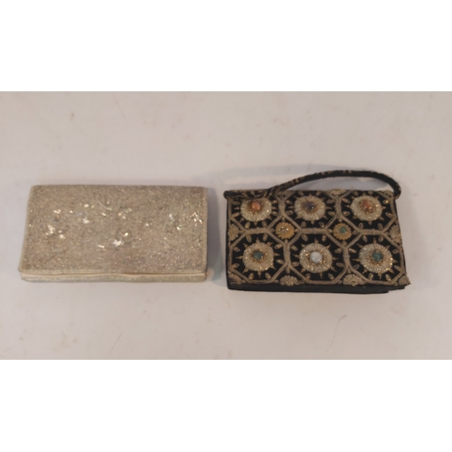 65 - Evening Bag Set with Cabouchen Stones and One Other