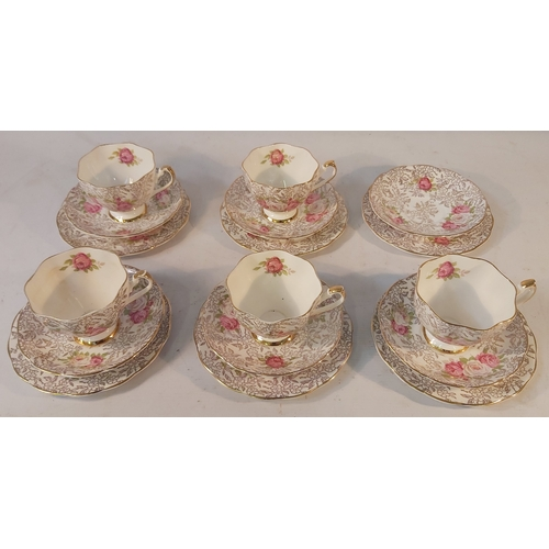 8 - Partial Bowbell Tea Set