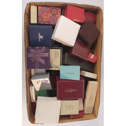 91 - Box of Empty Jewellery and Watch Boxes