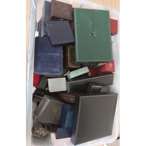 92 - Box of Empty Jewellery and Watch Boxes