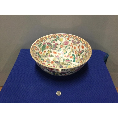 13 - large oriental butterfly bowl 15