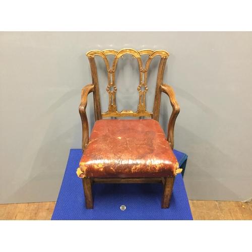 16 - vintage child's chair...