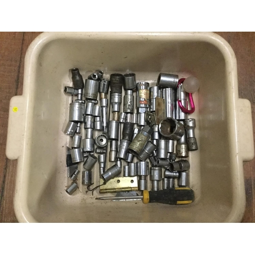47 - Tub of sockets...