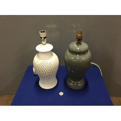 27 - Denby lamp base + 1...
