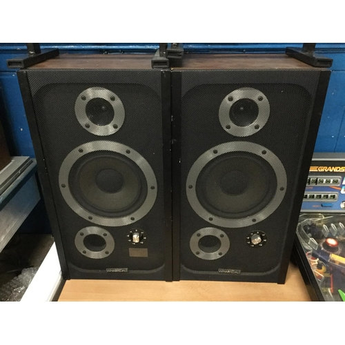42 - Pair of wharfdale E 20 speakers...