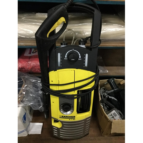 56 - heavy duty karcher power washer (needs attention)...