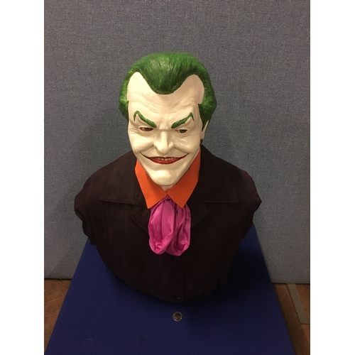 16 - Jack Nicholson Joker bust from Planet Hollywood London...