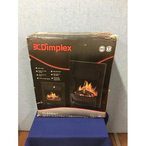 38 - New Dimplex electric fire...