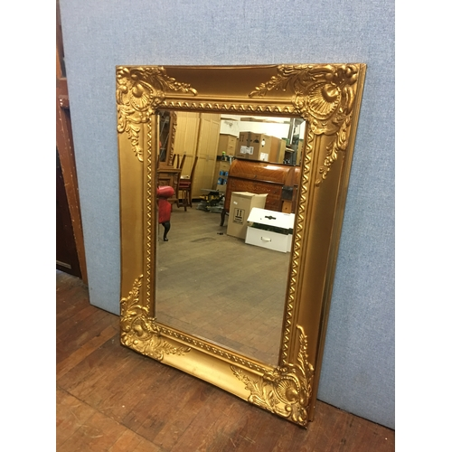 40 - Large gilt framed mirror...
