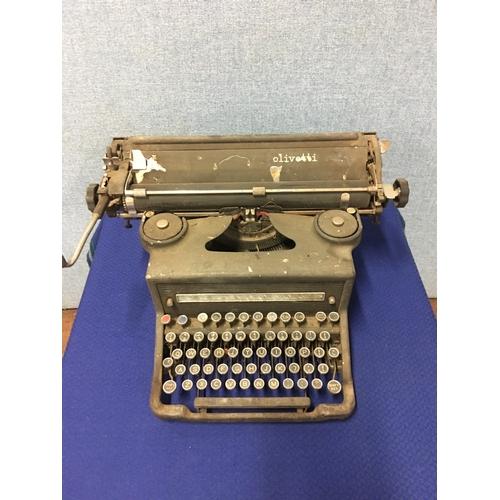 54 - Vintage Olivetti typewriter...