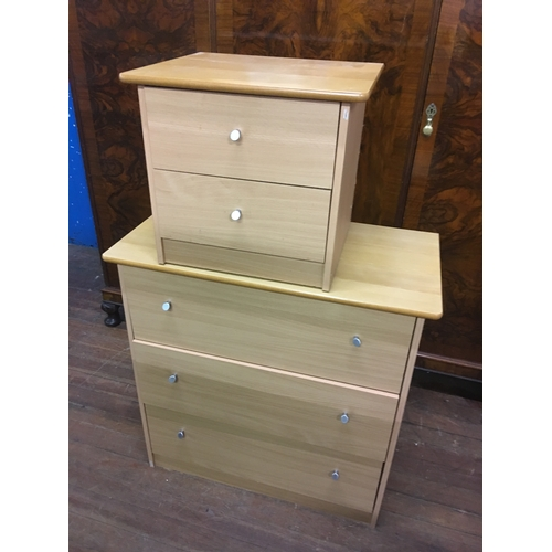 56 - 2 and 3 drawer chests...