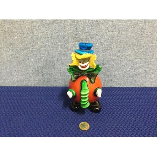 48 - Murano glass clown...