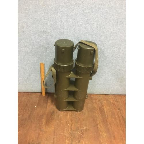 52 - Military mortar case...